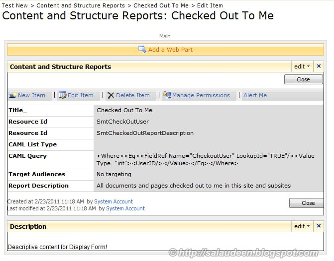 Add Web Part to SharePoint List form Pages