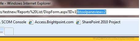Trick to Edit SharePoint List forms in browser