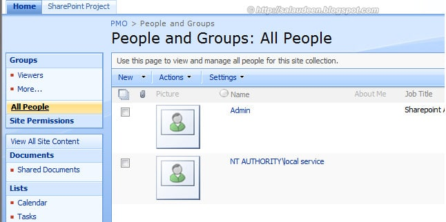 All People Link in SharePoint 2010