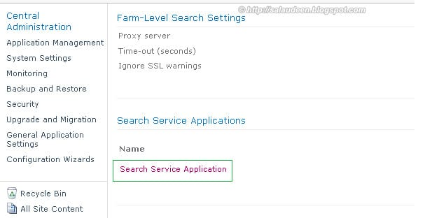 sharepoint 2010 search service pdf