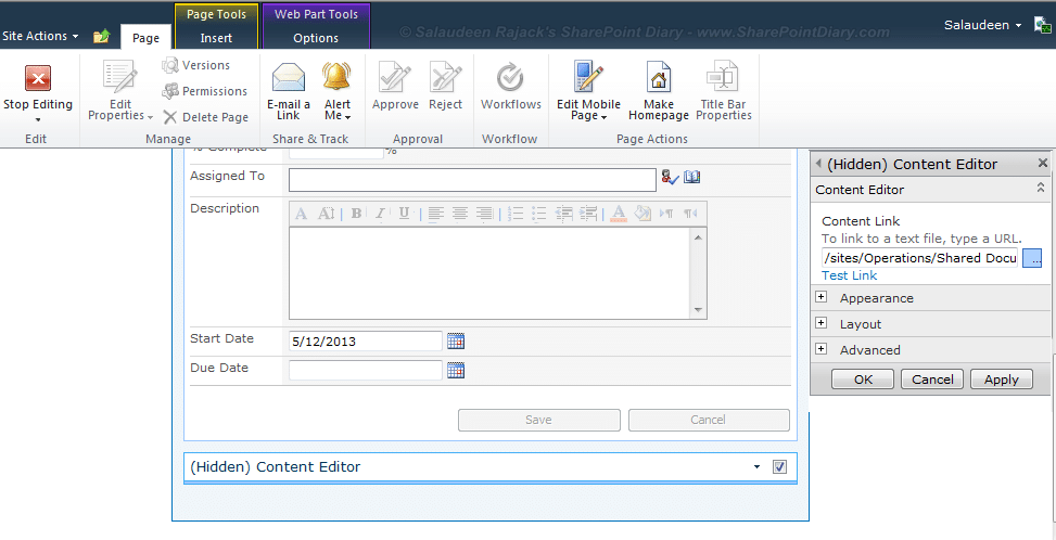 sharepoint redirect to another page from newformaspx