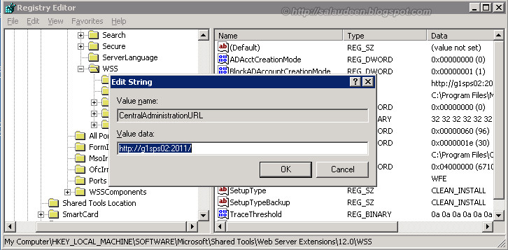 Distribute and Load Balance SharePoint Central Administration site