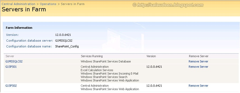 load balanced sharepoint central administration