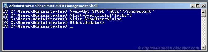 sharepoint hide user name