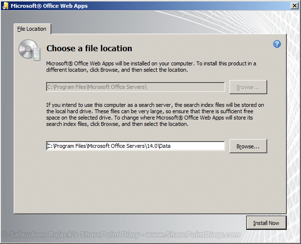 install office web apps in sharepoint 2010 server