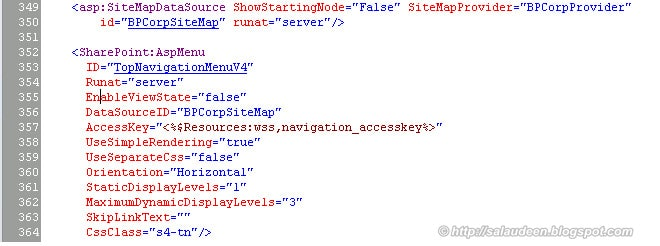 sharepoint 2010 consistent navigation across site collections