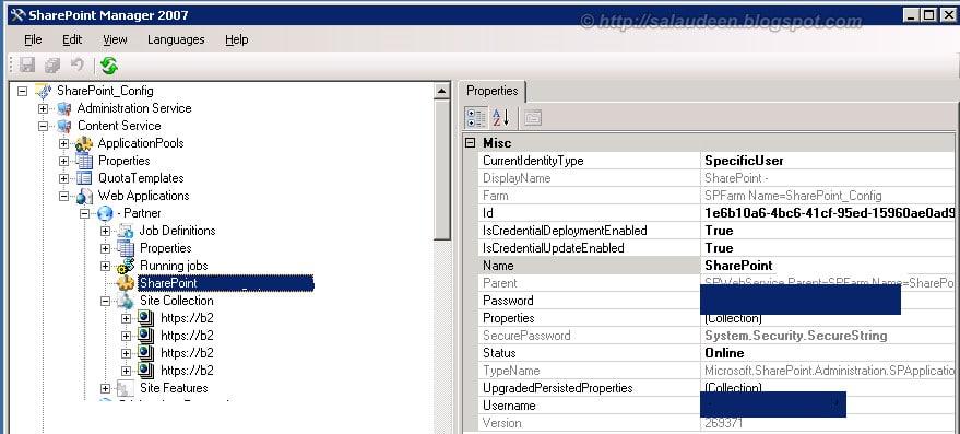 Retrieve IIS App Pool Password