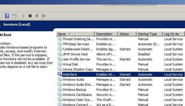 webclient service