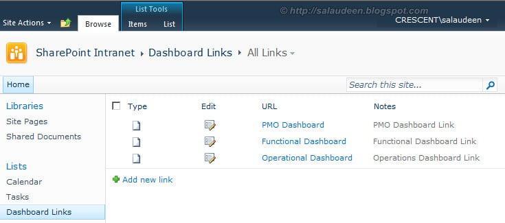 sharepoint 2010 create list instance