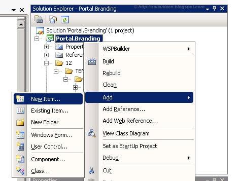 Create Branding Feature SharePoint