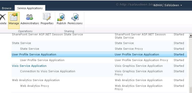 user profile service application