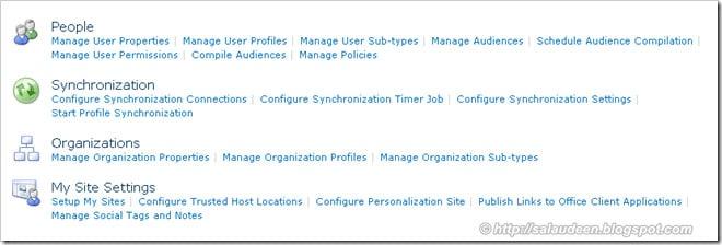 setting up user profile synchronization service sharepoint 2010