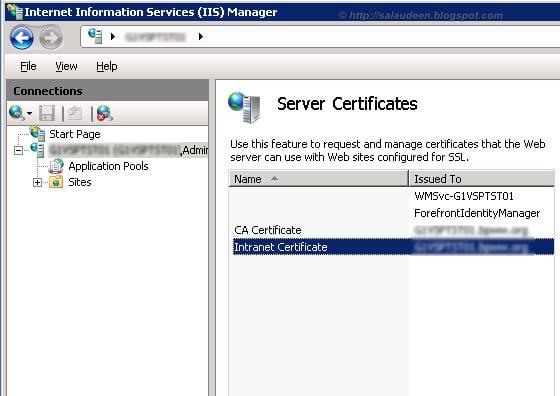 sharepoint 2010 apply ssl certificate