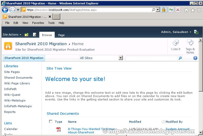 sharepoint 2010 secure site