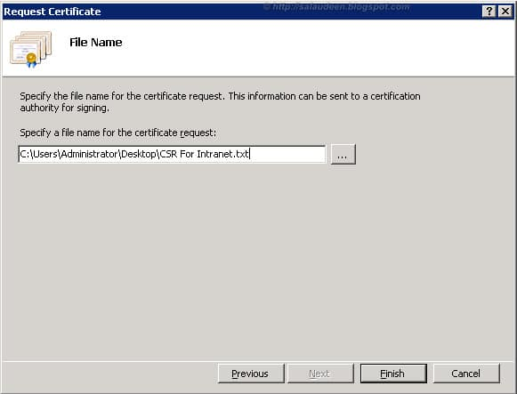 sharepoint 2010 ssl certificate request