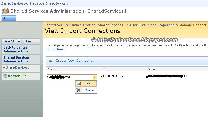 sharepoint 2007 user profile user filter