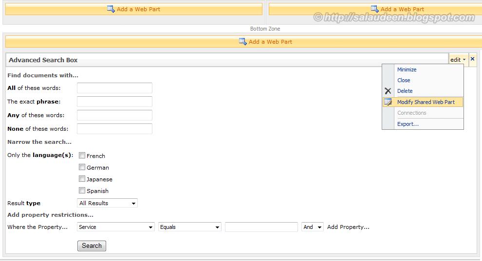 sharepoint 2010 search custom columns