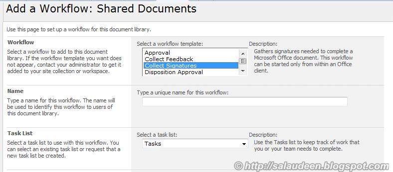 collect signature workflow enabled