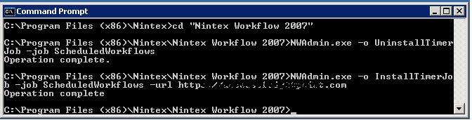Nintex Scheduled workflows Runs Twice
