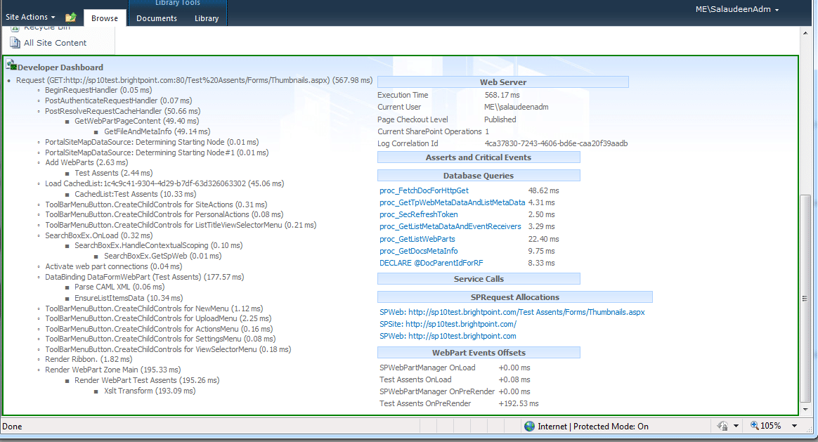 SharePoint Developer Dashboard - FAQs