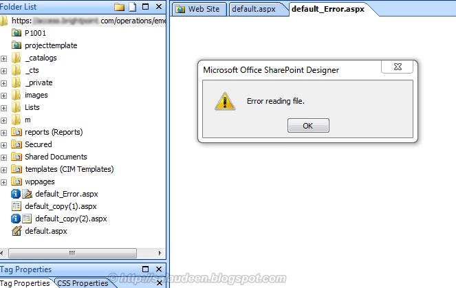 Error Reading File