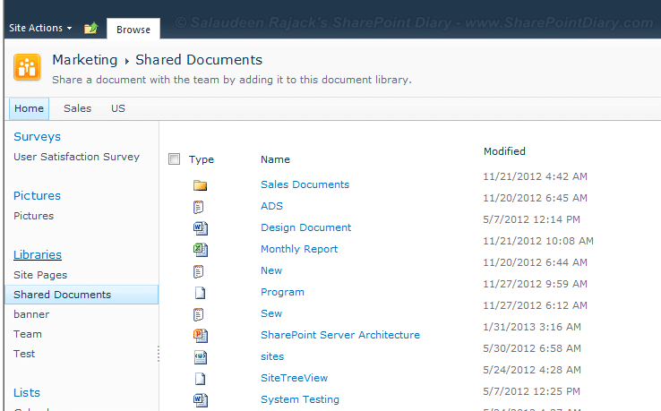 sharepoint 2010 list view with no toolbar