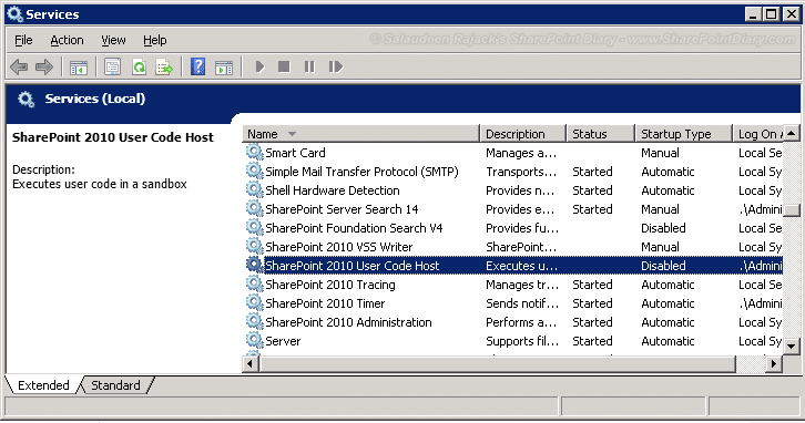 sharepoint 2010 sandboxed solution activate disabled