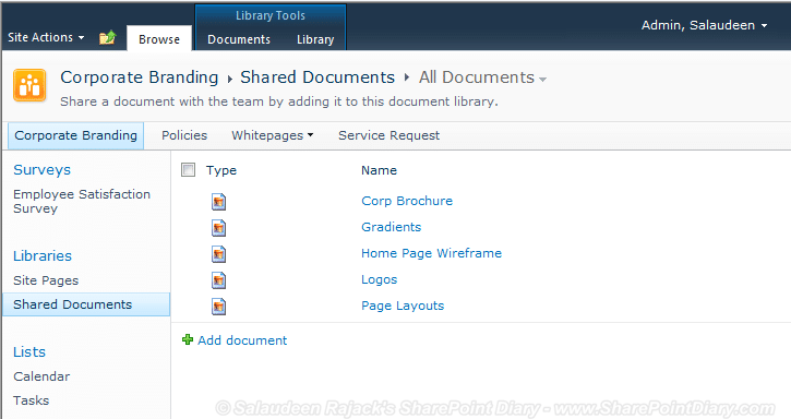 How to Add Custom File Type Icons in SharePoint