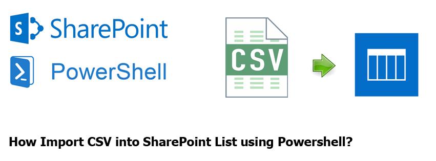 import csv to sharepoint list