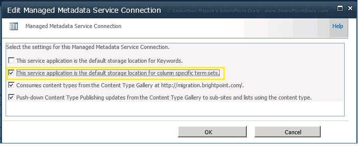 The default termstore for this site cannot be identified - Error on Creating Local Term Set Managed Metadata Column