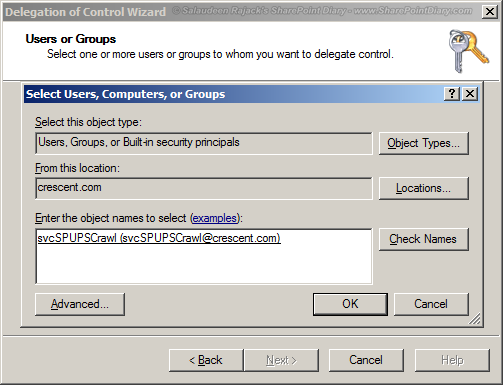 sharepoint replicating directory changes