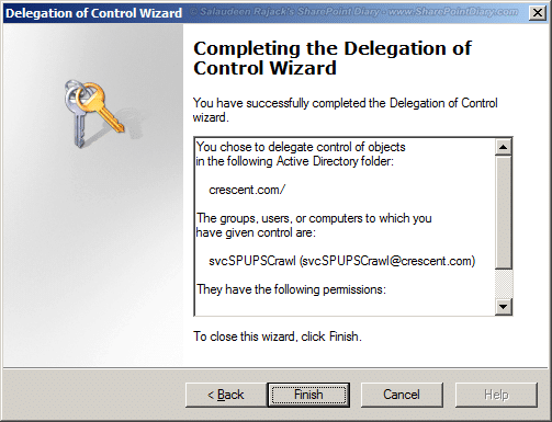 sharepoint 2010 user profile sync replicate directory changes