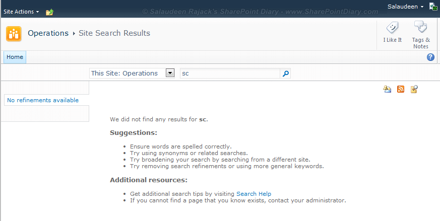 wildcard search on sharepoint