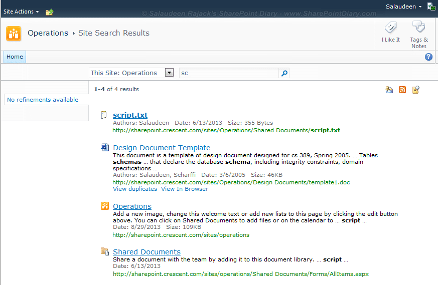 sharepoint server 2010 wildcard search