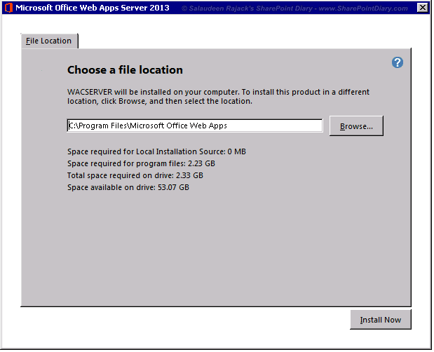 office web apps 2013 step by step