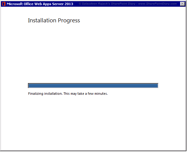 Install Office Web Apps 2013 for SharePoint 2013