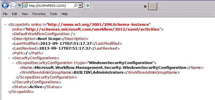 workflow manager installation