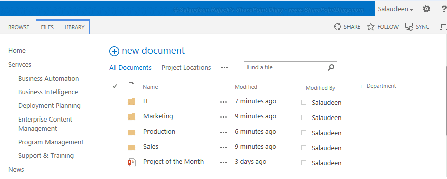 Set Default Metadata from Document Location in SharePoint 2013