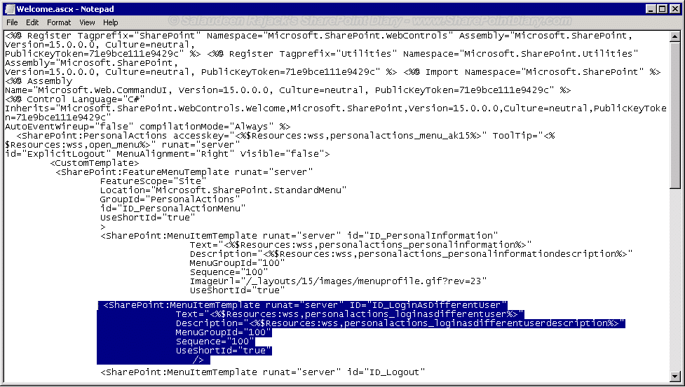 Sign in as Different User in SharePoint 2013 - Workarounds