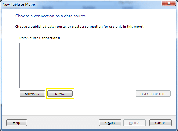sharepoint list reporting services data source