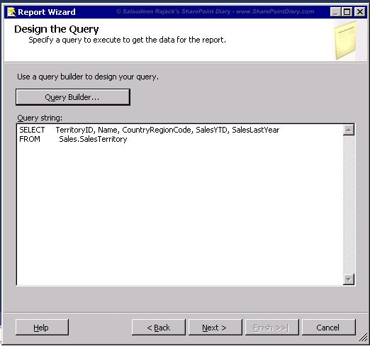 8 query builder query string