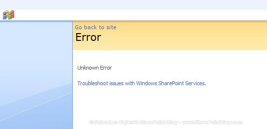 sharepoint custom error web.config