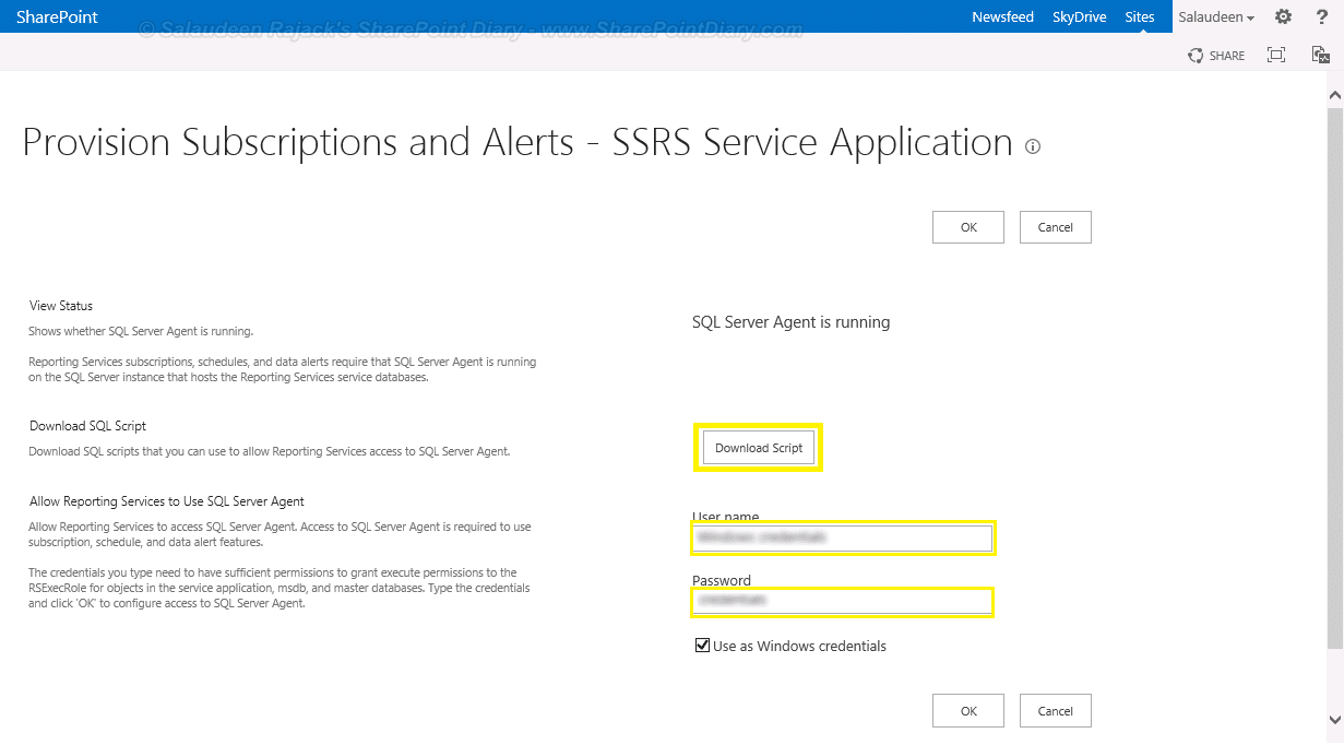 ssrs 2012 integration with sharepoint 2013