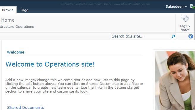 SharePoint 2010 i like it disabled