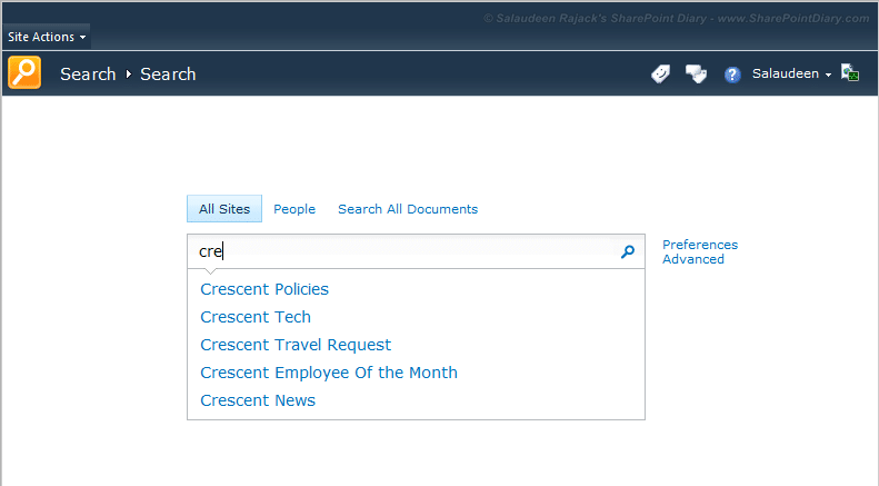sharepoint 2013 search query suggestions