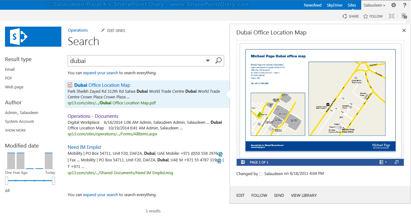 enable pdf preview in sharepoint 2013 search