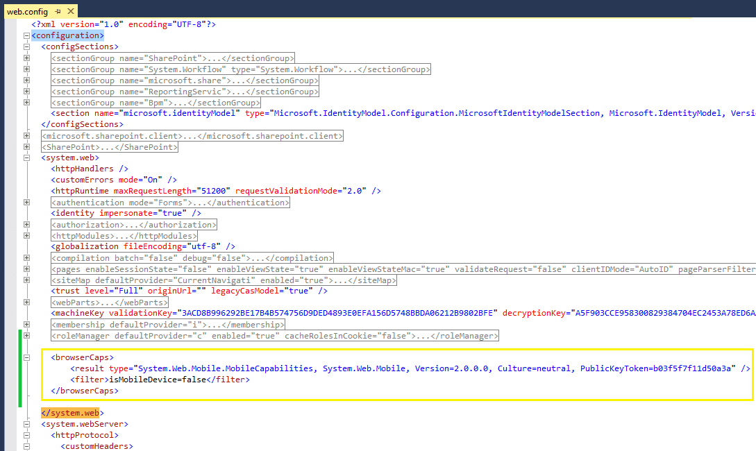 sharepoint 2013 turn off mobile view