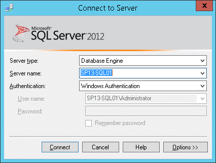 sharepoint 2013 database max degree of parallelism