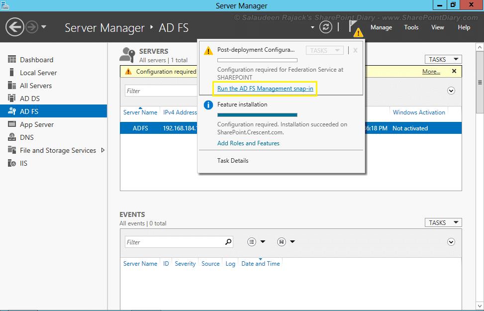 configure adfs for sharepoint 2013