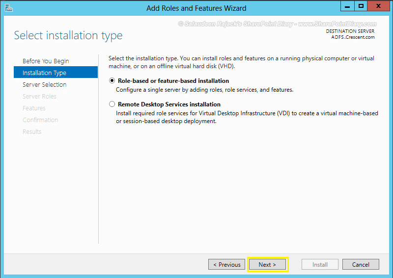 Installing and Configuring ADFS Integration with SharePoint 2013 - Step by Step Guide